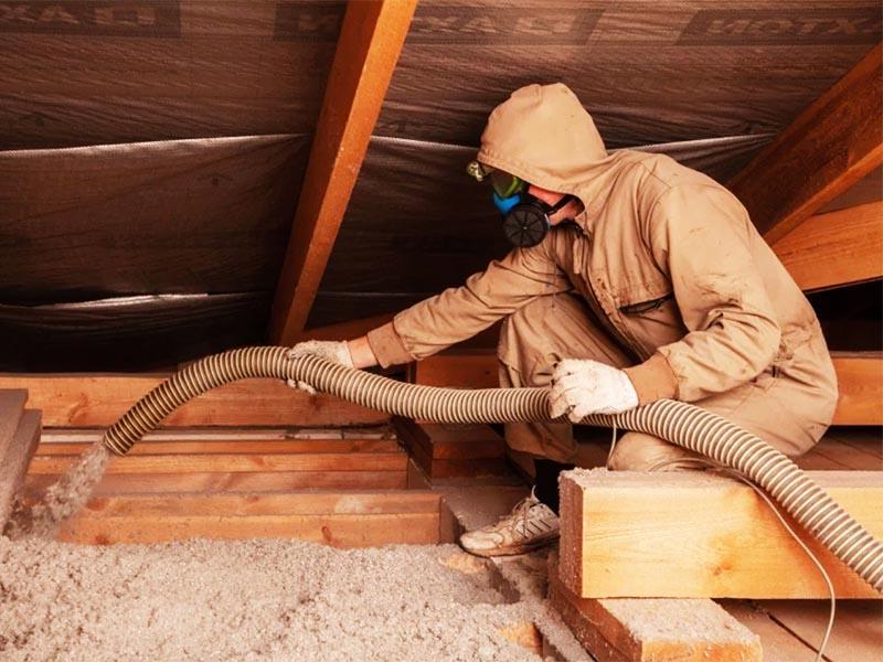 Как бесплатно утеплить пол и потолок в доме