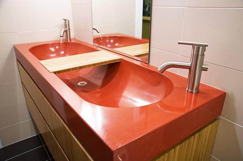 Акрил – один из самых распространённых материалов для раковин и ванн