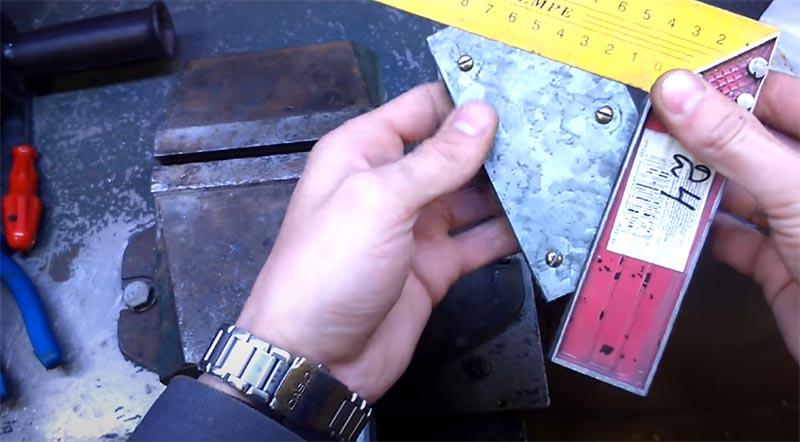 Основная работа по изготовлению магнитного уголка завершена