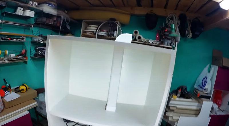 Итоги работы радуют, теперь шкафчик можно повесить на место