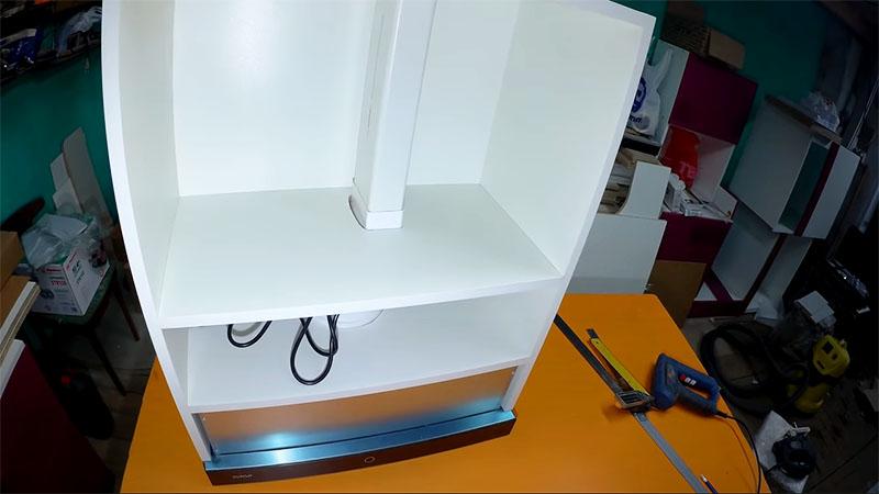Самостоятельная установка кухонной встраиваемой вытяжки