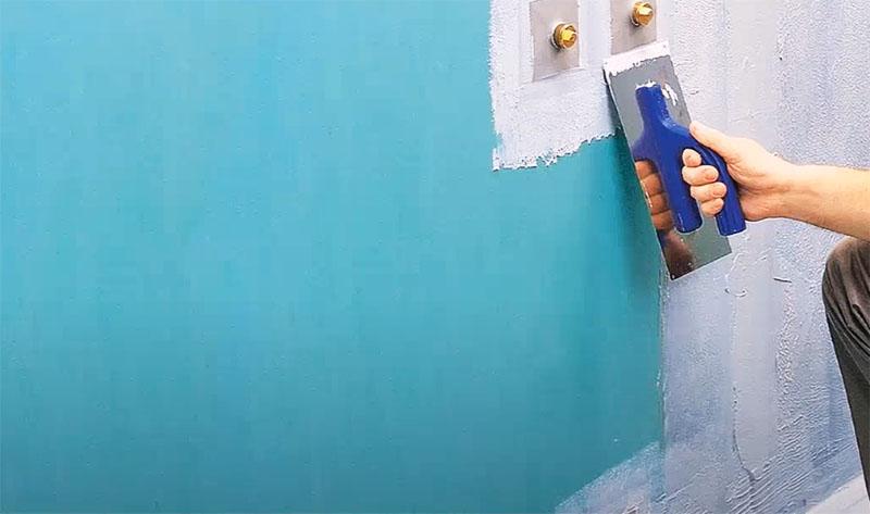 Гидроизоляция – один из важнейших этапов обработки стен при монтаже сауны в квартире