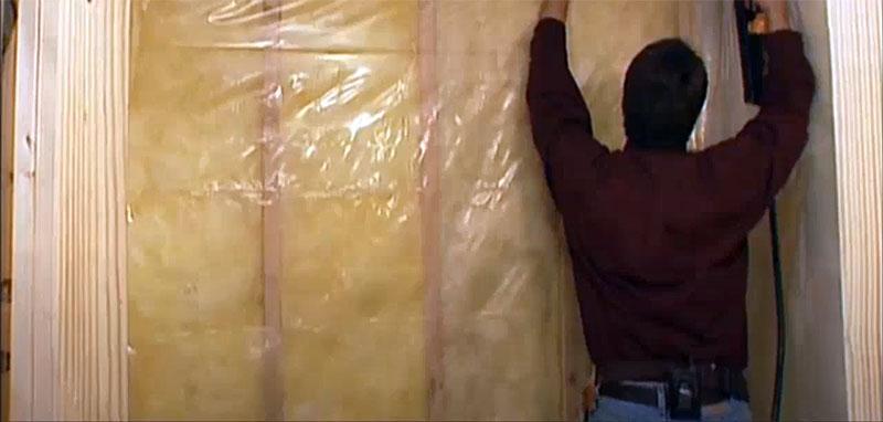 Пароизоляция очень важна при монтаже домашней сауны