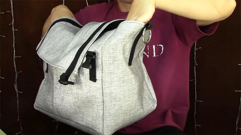 Примерно так должна выглядеть сумка для термоконтейнера