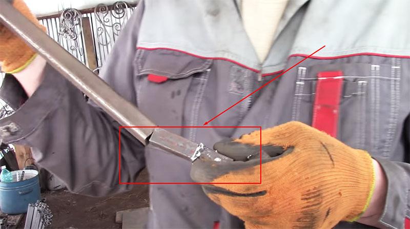Вот так выглядят стальные заглушки из прутка на 16