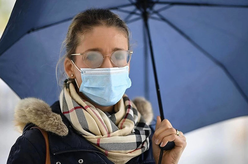 Что сделать, чтобы очки не потели при ношении медицинской маски