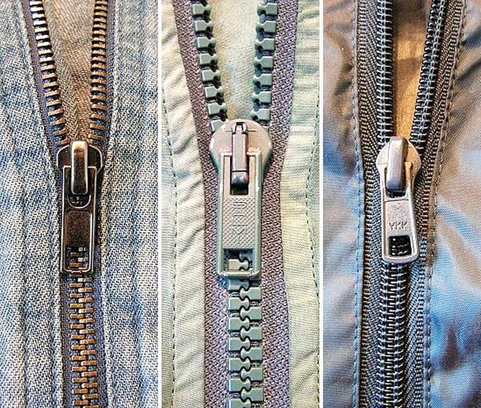 Как отремонтировать молнию на одежде своими руками