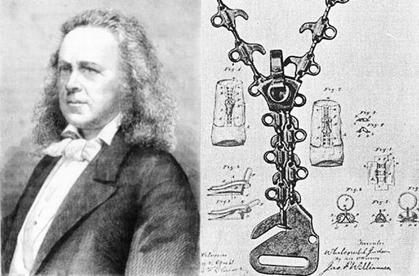 Первый изобретатель молнии − портнойЭлиас Хоуи