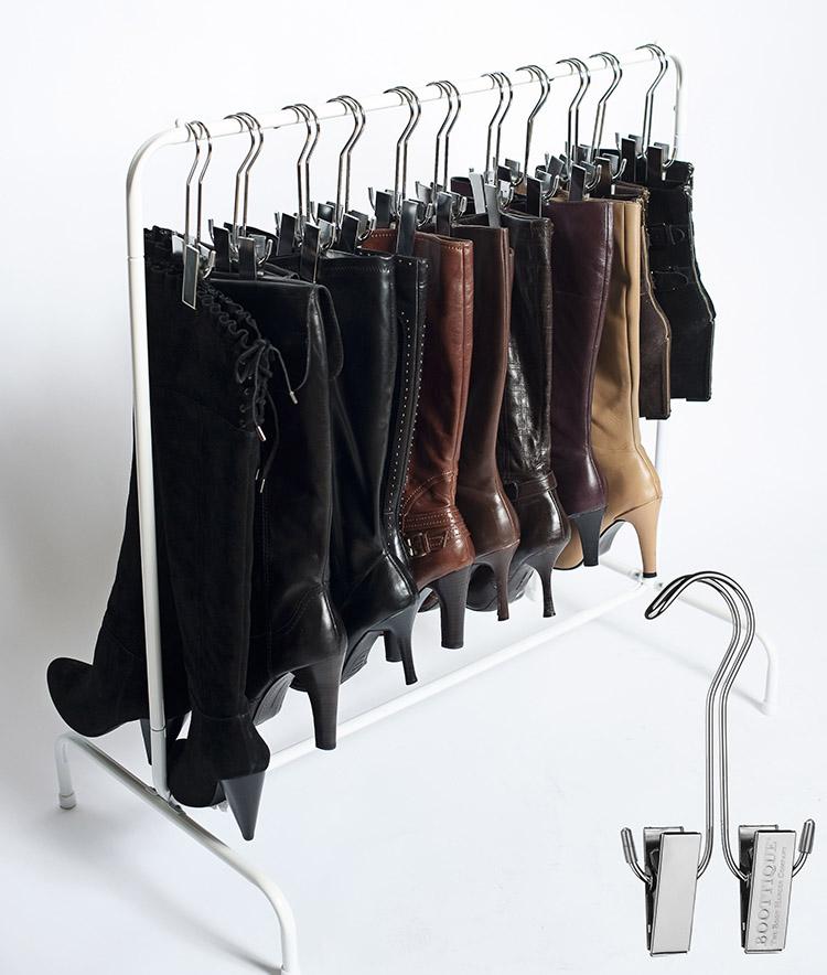 Удобная вешалка − подходит и для брюк, и для сапог