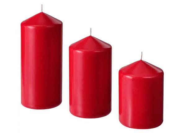 Набор ярких формовых свечей