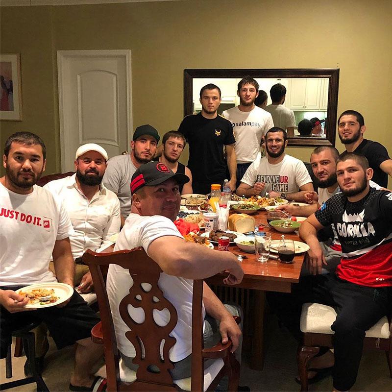 Родительский дом трёхкратного чемпиона UFC Хабиба Нурмагомедова