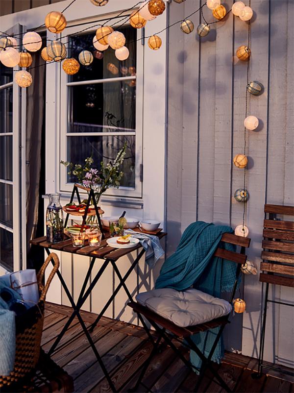 Садовая мебель из массива акации