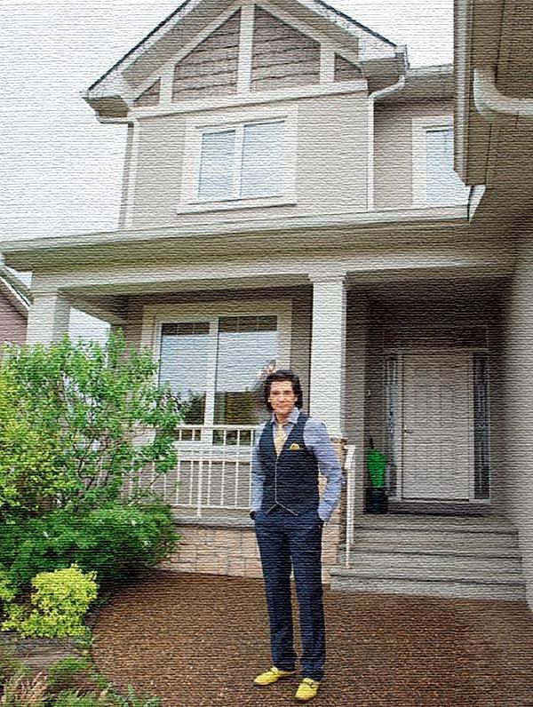 Авраам Руссо и его роскошный дом