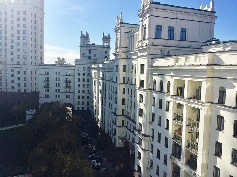 Вид из окна Ефима Шифрина