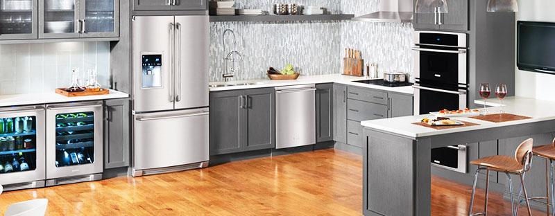 Разумная планировка кухни и встраиваемая техника