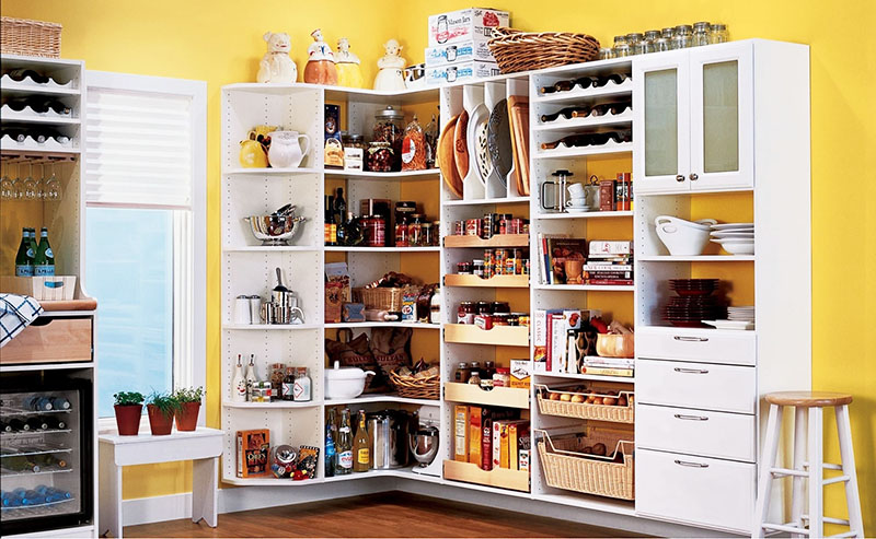Полки в кухне