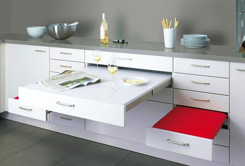 Применение мебели типа «трансформер»