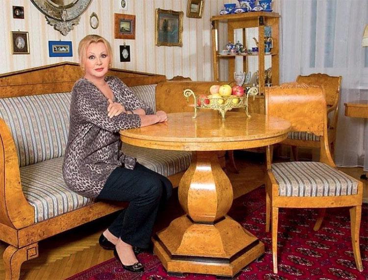 Наталья Селезнёва и её апартаменты