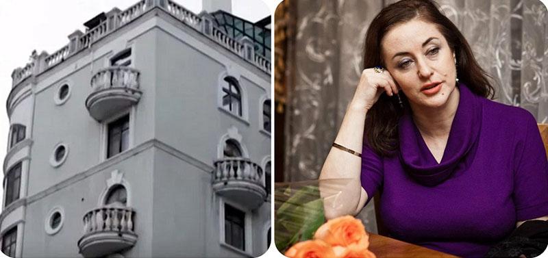 Тамара Гвердцители и её роскошный дом