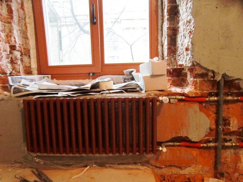 Удаление воздуха из радиатора отопления