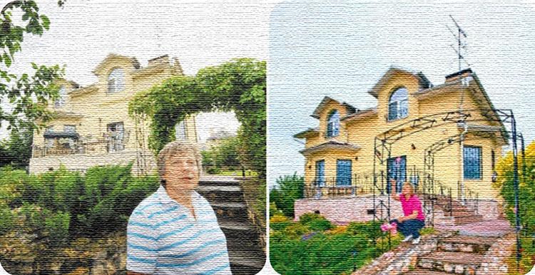 Виктор Салтыков и его новый дом