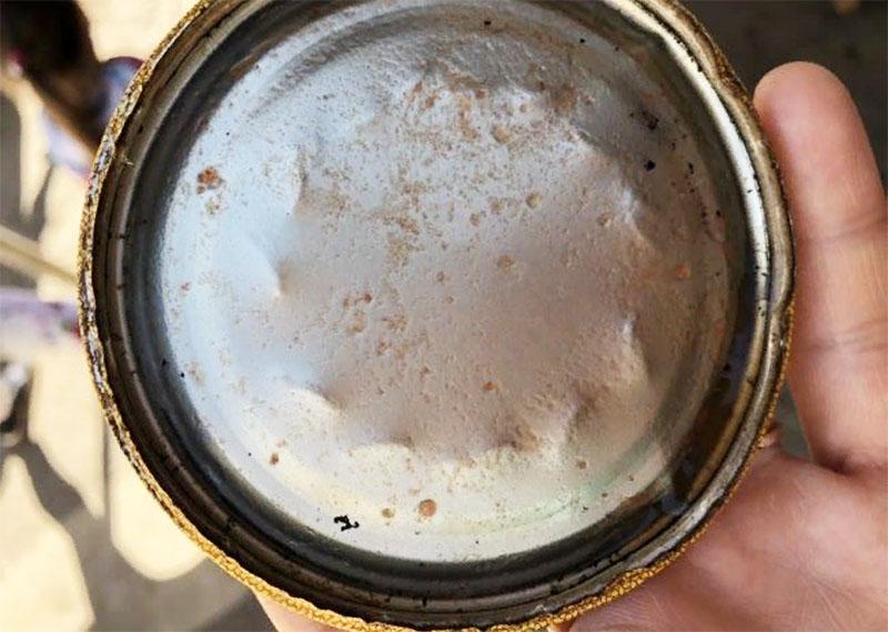 Если появились следы ржавчины – крышка уже не годится к использованию