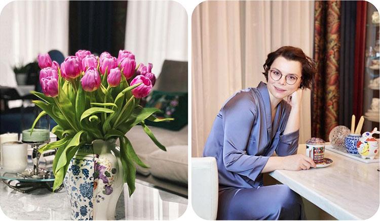 Татьяна Брухунова придаёт особое значение сервировке и выбору посуды