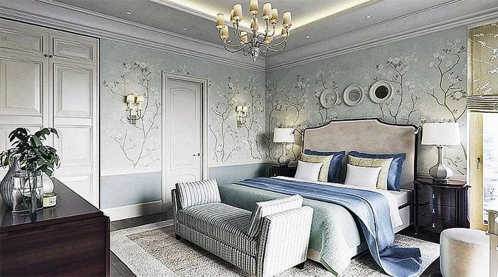 Из спальни есть выход на просторную лоджию