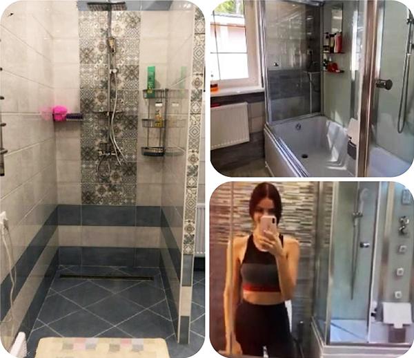 В ванной комнате установили стеклопакет с матовым белым стеклом
