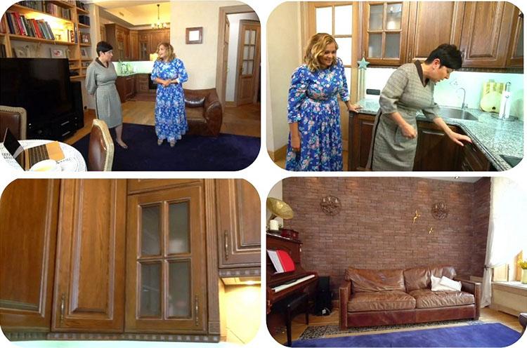 Ирина Пегова и её новая квартира
