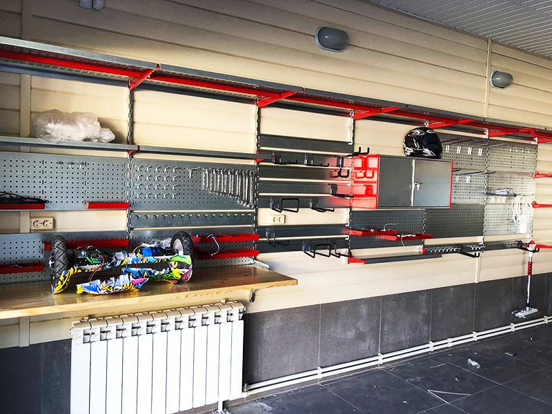 Как идеально организовать порядок в гараже