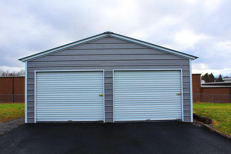 Индивидуальный гараж на две машины
