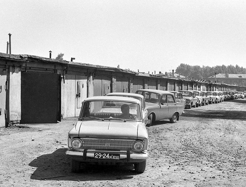 Комплекс индивидуальных гаражей