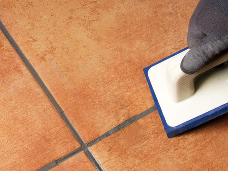 Не забывайте о том, что между плитками должен быть шов