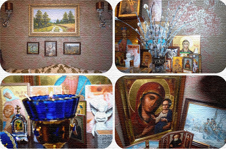 Кирилл Андреев – человек верующий, у него много старинных икон, привезённых из священных мест