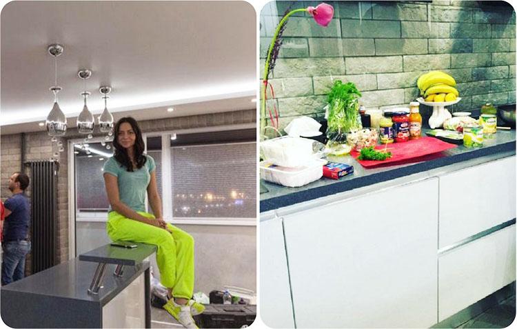 Первые фотографии двухэтажной квартиры знаменитой Кристины из сериала «Универ» − Настасьи Самбурской