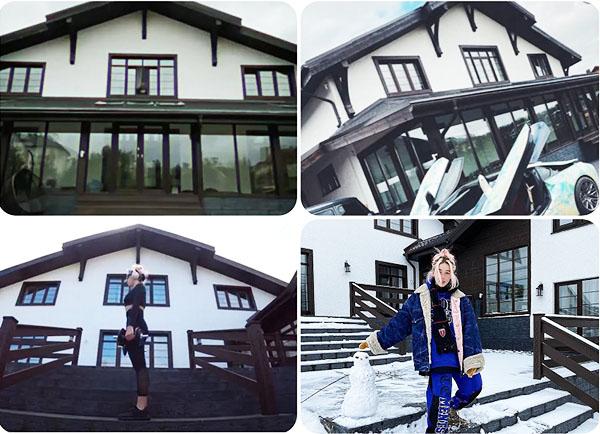 Настя Ивлеева и её роскошная квартира