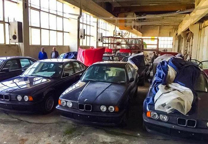 Находка в болгарском гараже