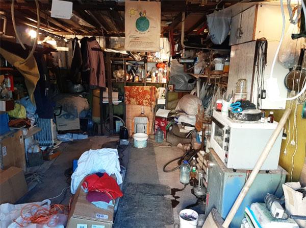 Содержимое старого гаража