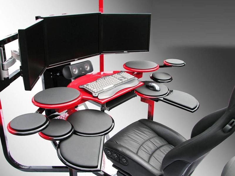 Ультрасовременные компьютерные столы