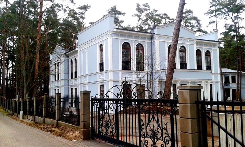 Алишер Усманов и его дом