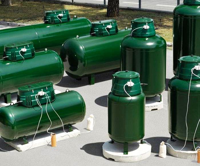 Вертикальные газгольдеры − только импортные, отечественные производители пока такие не производят