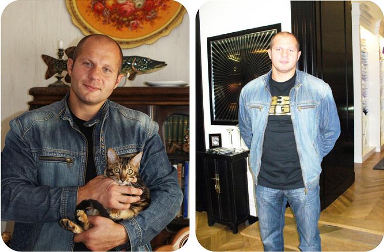 Фёдор Емельяненко и его новая квартира