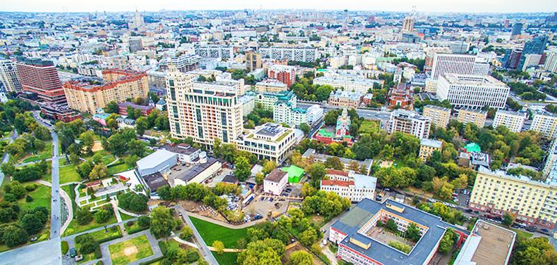 В районе Якиманка строится дорогое жильё элитного уровня