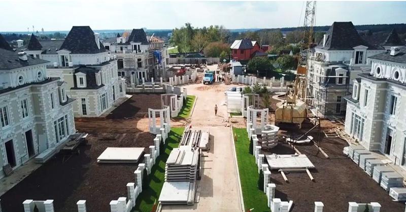 После проведения озеленения клубный посёлок станет настоящим французским оазисом