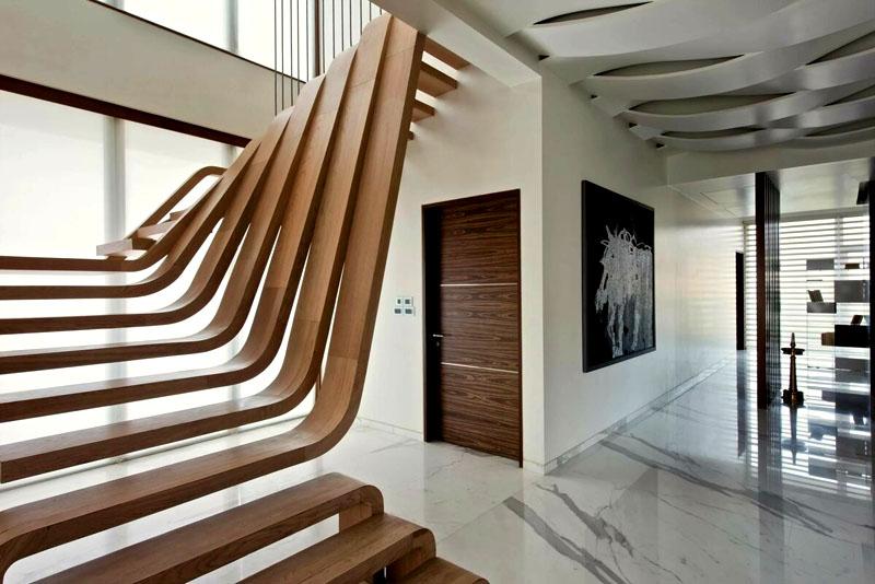 Интересные идеи дизайна маршевых лестниц