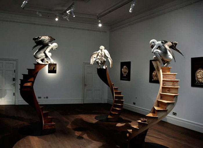 И наконец, лестницы в прямом смысле могут быть арт-объектами, достойными музейных показов