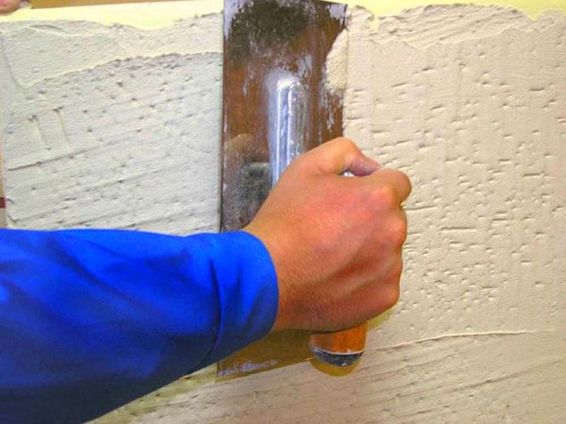 Оштукатуривание холодной стены