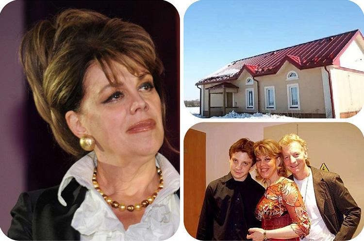 Любовь Казарновская и её новый дом