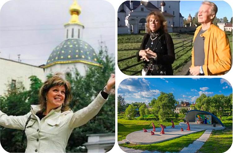 На территории Вятского построено два храма: Воскресения Христова и Успения Божией Матери